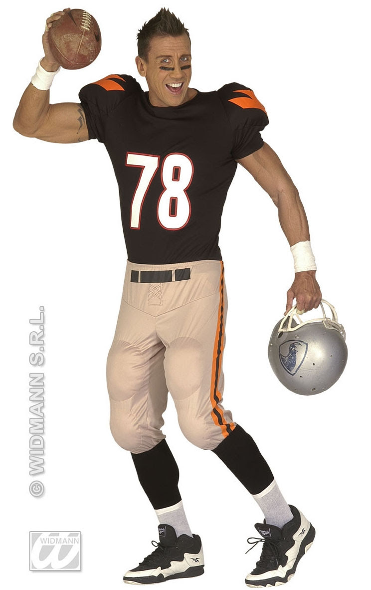 American Football Player Costume, American football player costume  mens fancy dress costumes