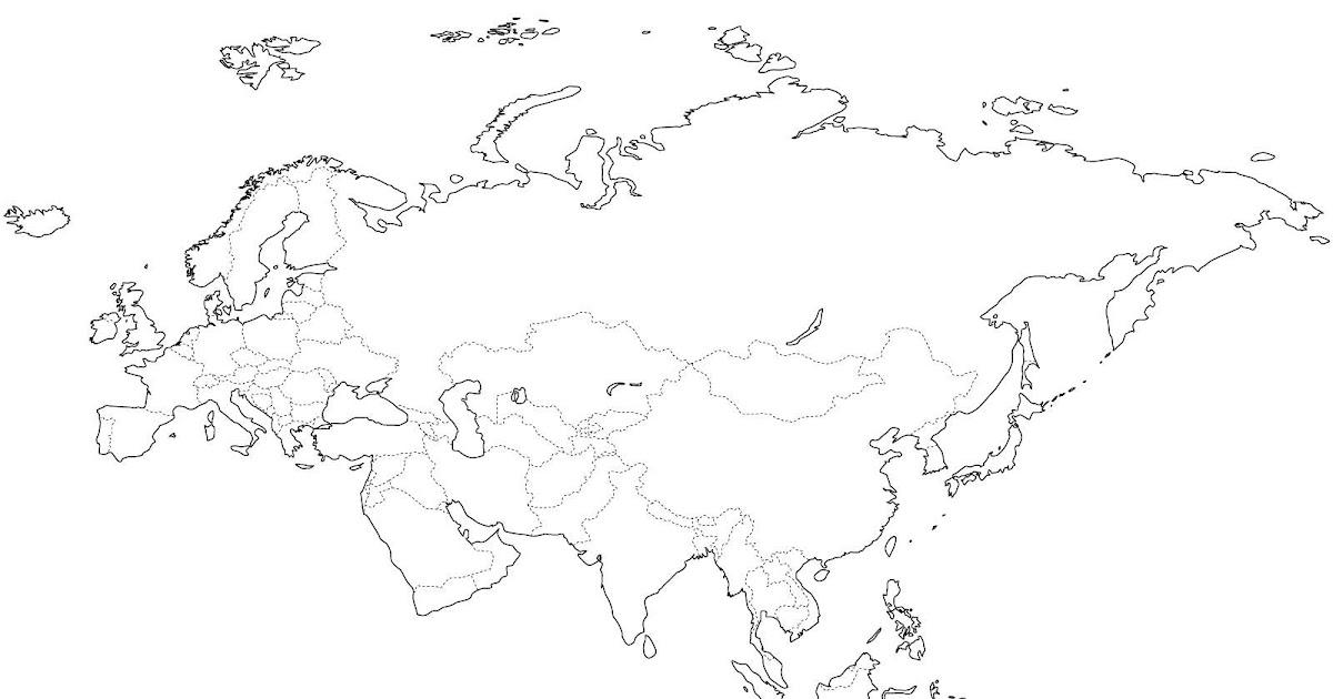 Mu Mapa Mudo De Continente Americano