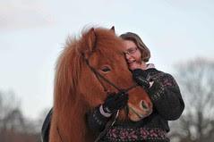 Sæla und ihre Reiterin