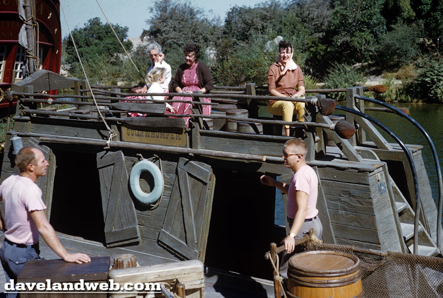 Vintage Disneyland Keelboat photo