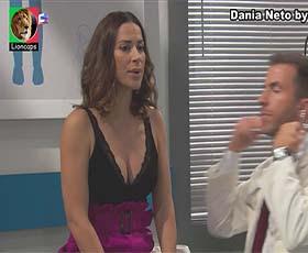 Dania Neto sensual na novela Terra Brava e Vila Faia