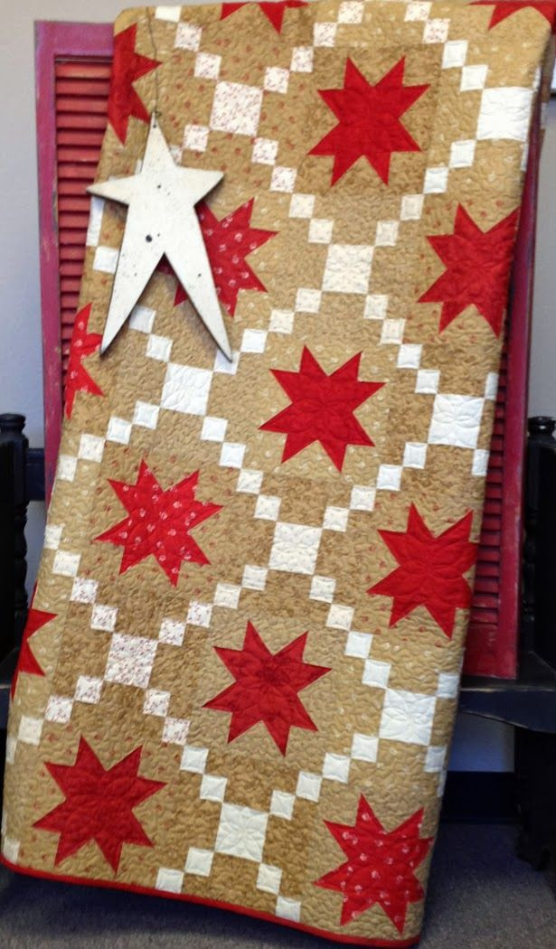 Midwinter Stars - My Red Door Designs
