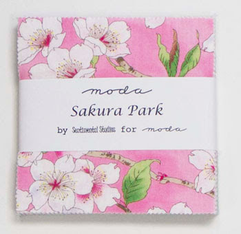 Moda Charm Pack - Sakura Park by Sentimental Studios