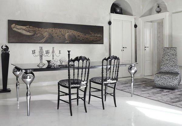 Modern Gothic Interior Design | InteriorHolic.