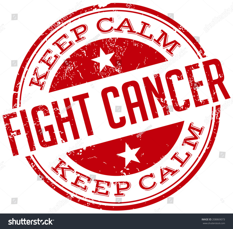 Download Fight Cancer Stamp Stock Vector Illustration 208869073 ...