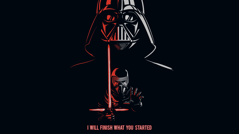 Darth Vader Kylo Ren Quotes 5k Wallpapers Hd Wallpapers