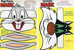 Bugs Bunny masks