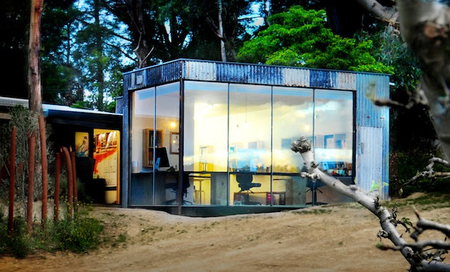 contain 1 Small Australian Shipping Container Office