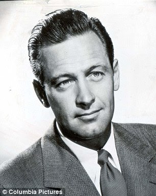 Portrait of actor William Holden (1918-1981).