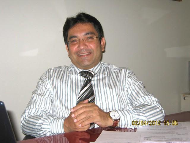 Mr. Hemant Kulkarni, V. P., Pegasus Properties, developers of Megapolis, Hinjewadi, Pune 411 057 - 3