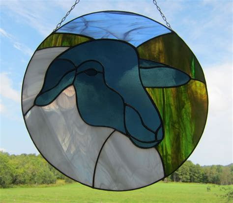 animals stained glass images  pinterest