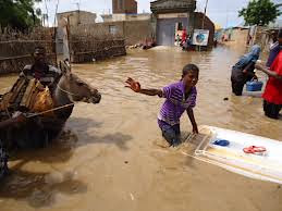 Somalia flooding in the Middle Shabelle region of the Horn of Africa state. A cyclone also hit the northern region of Puntland. by Pan-African News Wire File Photos