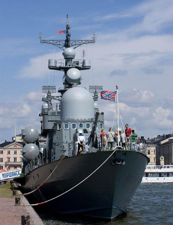 Warship morshansk