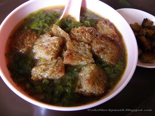 Radish Top Soup 2