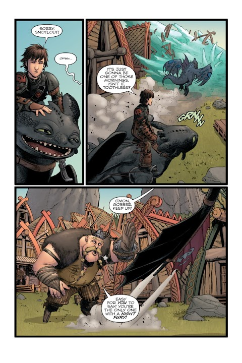 Httyd Comic The Serpents Heir