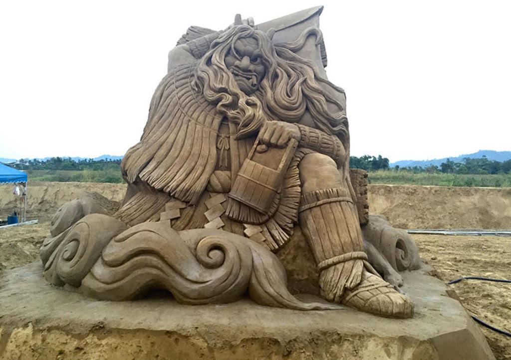 As extraordinárias esculturas de areia de Toshihiko Hosaka 18