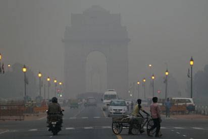 Pollution in New Delhi