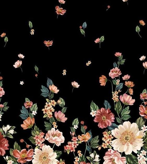Wallpaper Bunga Hd Hitam Gambar N rend dan VIRAL