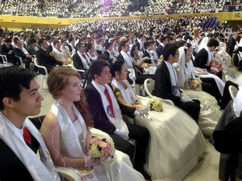 Inside a Unificationist Mass Wedding Ceremony Photos
