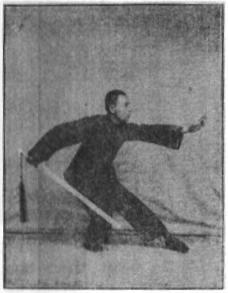 《昆吾劍譜》 李凌霄 (1935) - posture 26