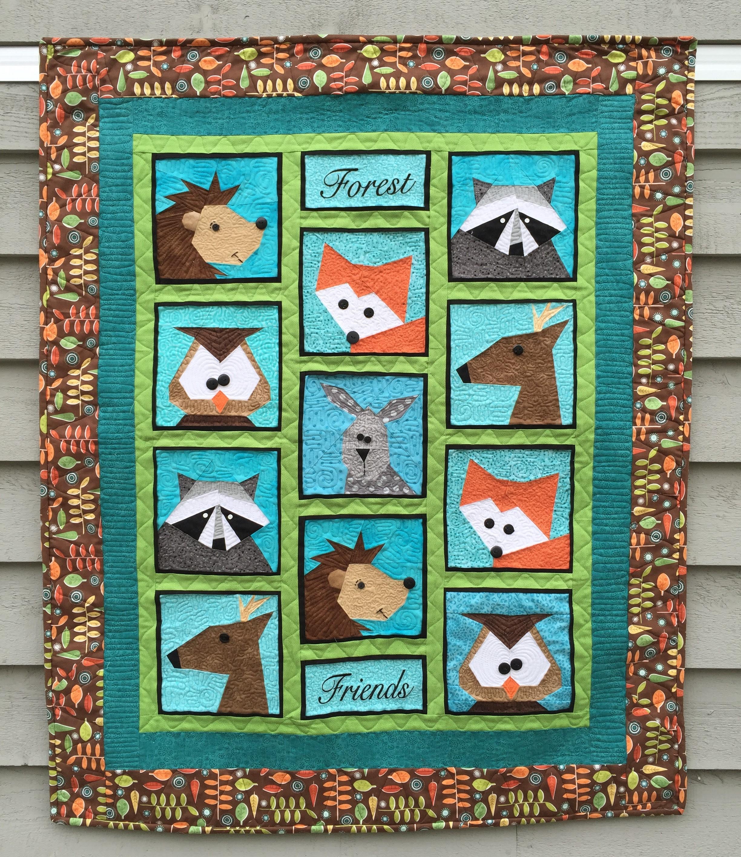 Free Paper Piecing Quilt Patterns Animals Quilt Pattern