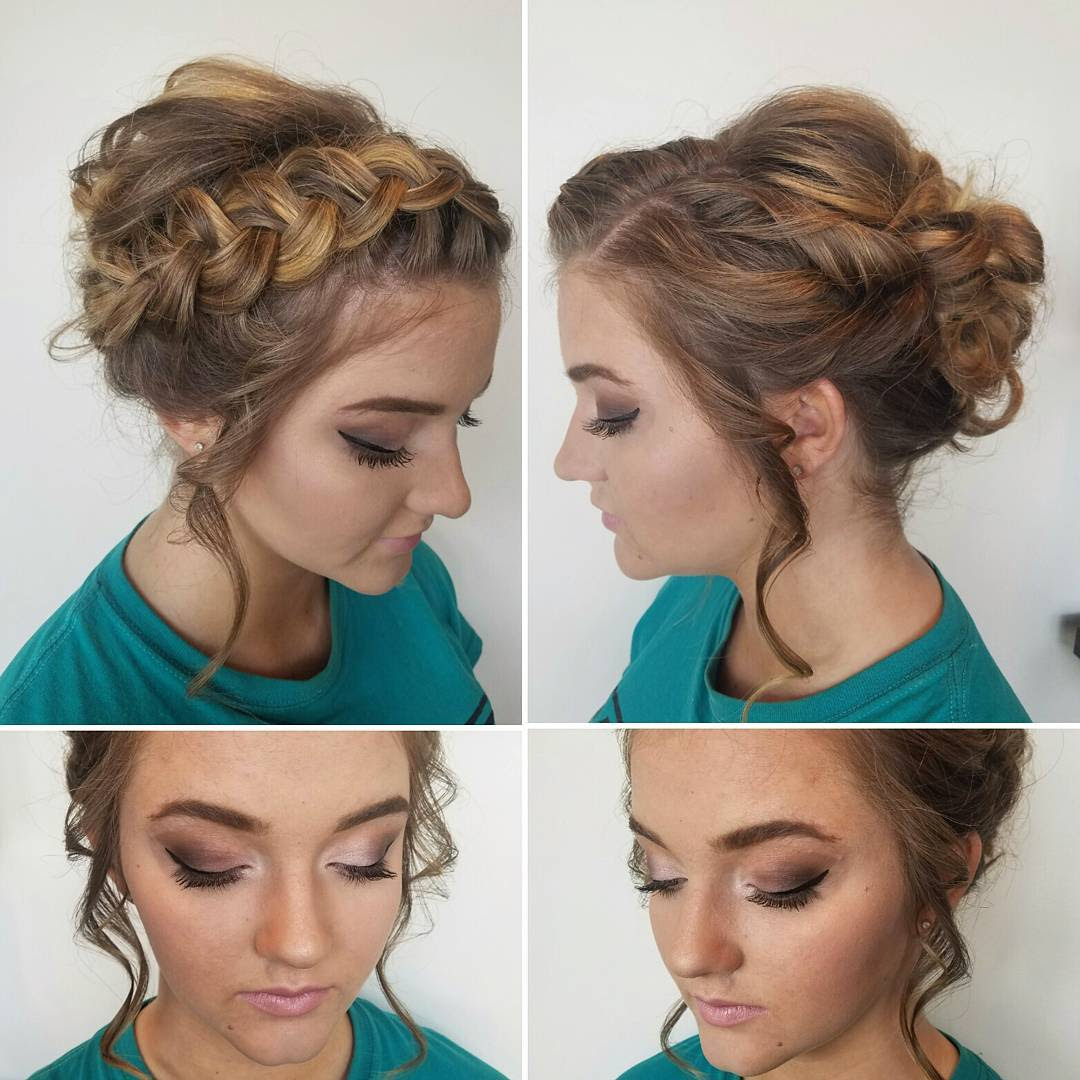 20 Gorgeous Prom Hairstyle Designs For Short Hair Prom Hairstyles 2017