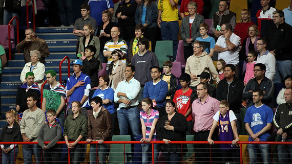 Australian Boomers v New Zealand Tall Blacks FIBA Oceania Championship International Men's Basketball, Brisbane Entertainment Centre, Boondall, Brisbane, Queensland, Australia; 9 September 2011. Photos by Des Thureson:  http://disci.smugmug.com.