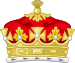 Coronet of a Grandchild of the Sovereign.svg