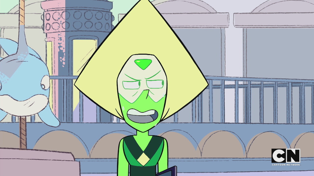 """steven-universe-incorporated: """" Leaked stills from Too Short To Ride. """""""