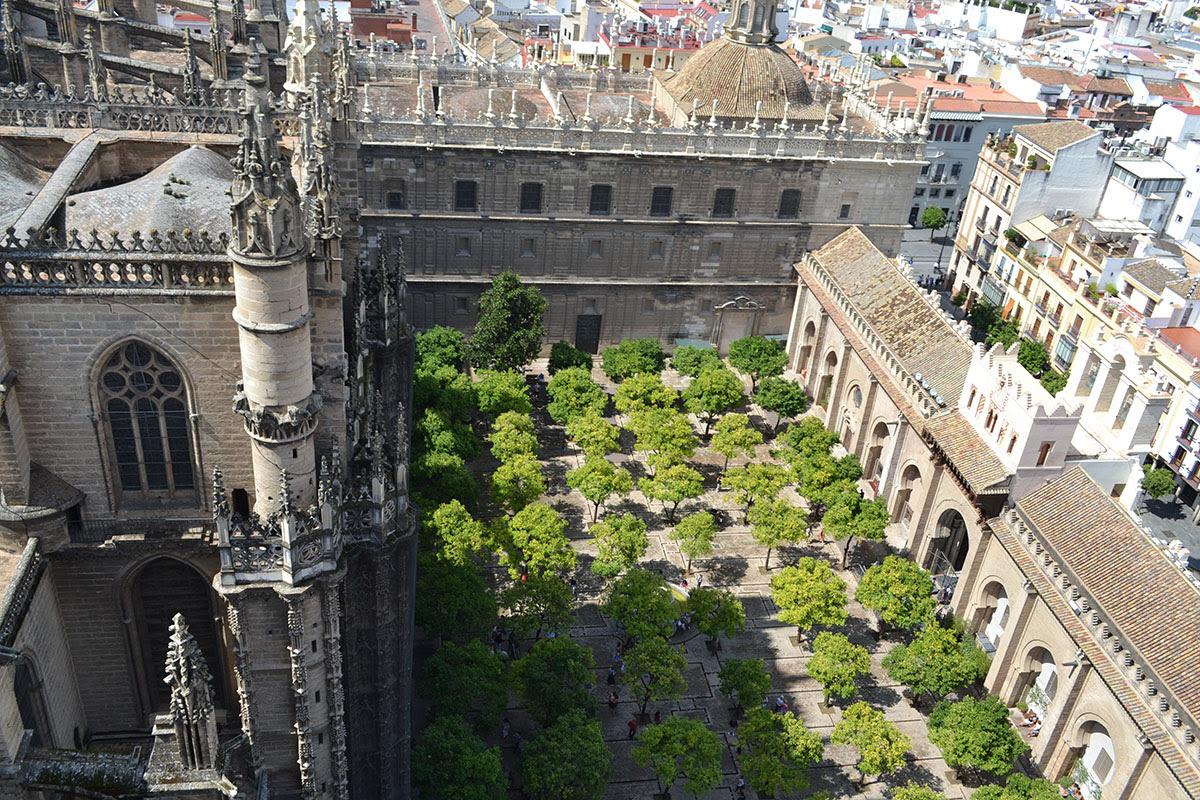 Resultado de imagen de patio de los naranjos del la catedral de sevilla