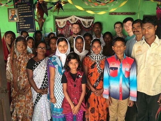 Orthodox Hindus. Kothari village