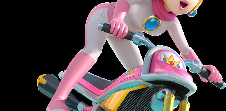 Mario Kart Princess Peach Png