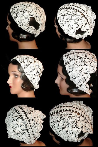 snow queen as head scarf