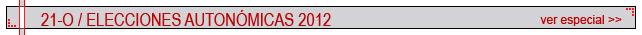 Elecciones Autonómicas 2012