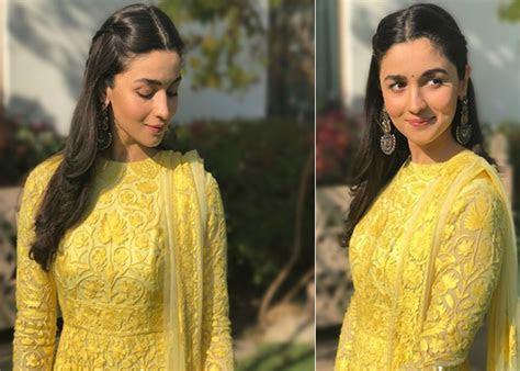 Alia Bhatt Sonam Kapoor to Kriti Sanon Rekha: Yellow is