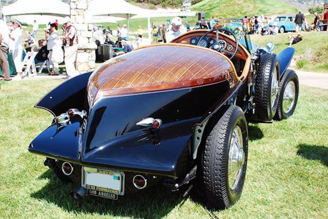 Rolls-Royce Boattail Speedster, Palos Verdes Concours d'Elegance