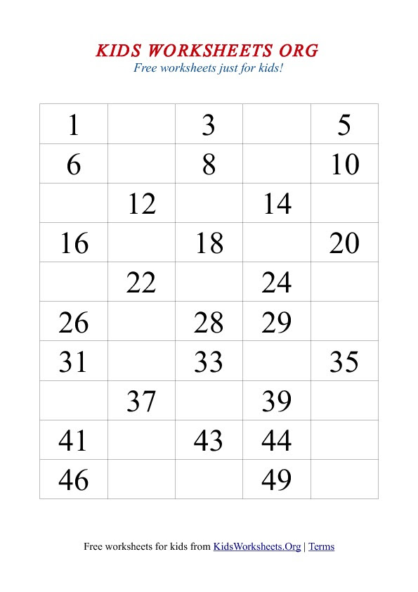Missing Number Worksheet New 622 Fill In The Missing