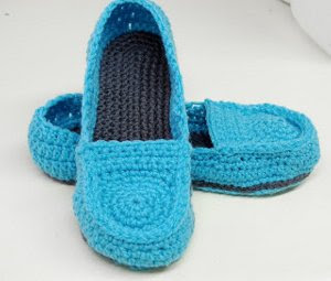 Women's Crochet Loafers Pattern