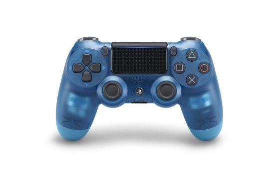 dualshock 4 colors blue crystal
