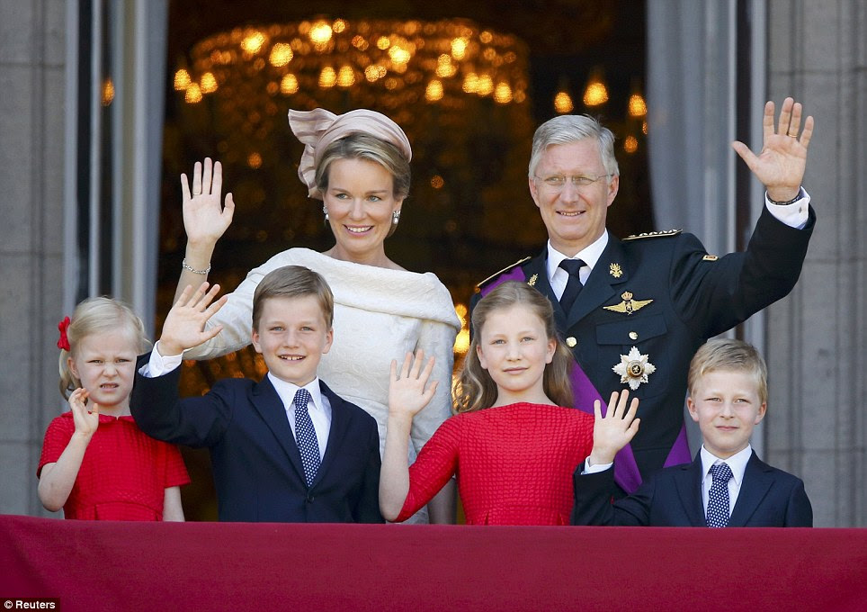 Royal family: The new King Philippe and Queen Mathilde have four children