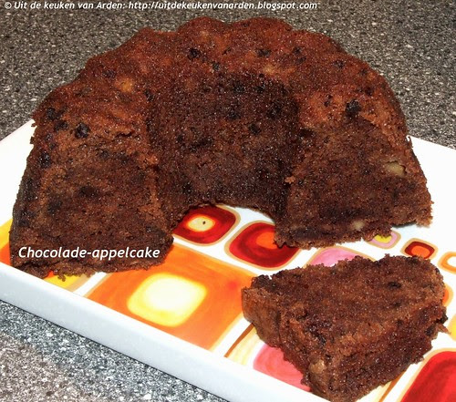 Chocolade-appelcake