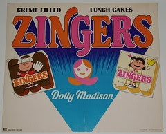 Peanuts Zingers sign
