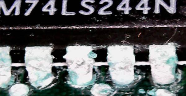 Amiga 500 Plus con daños por sulfato (6)