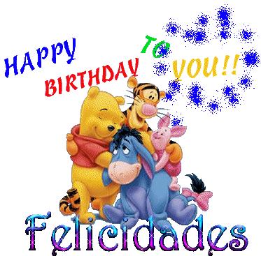 Happy Birthday con Pooh