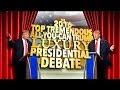 Trump Debates Himself On Late Show With Stephen Colbert - Video