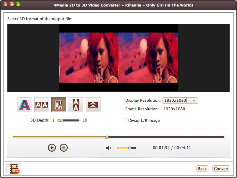 Image result for 4Media 2D to 3D Video Converter