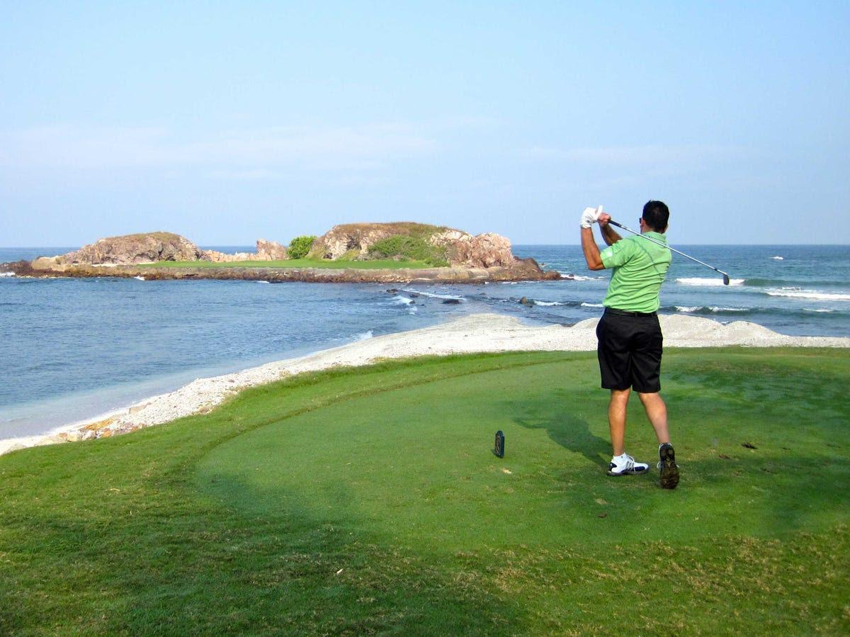 hard golf course