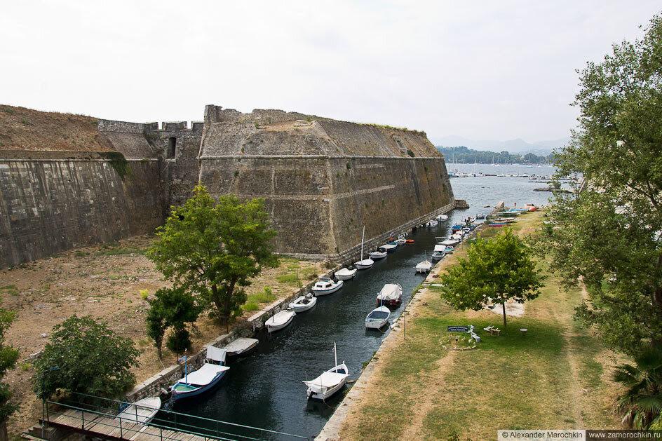 Ров Старой Крепости (Керкира, Корфу)