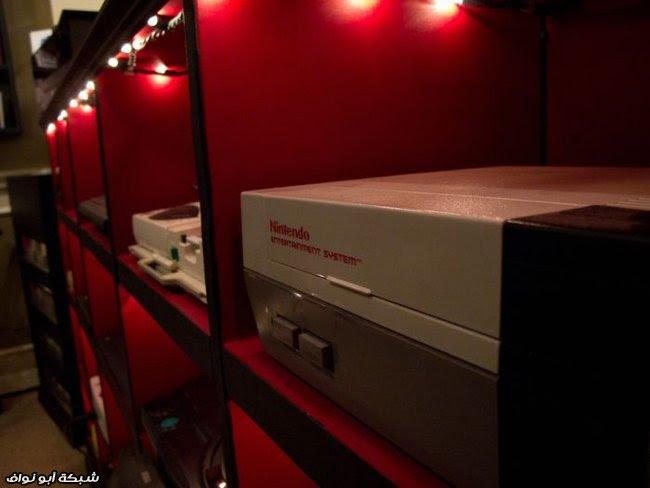 غرفة مدمن ألعاب الكترونية