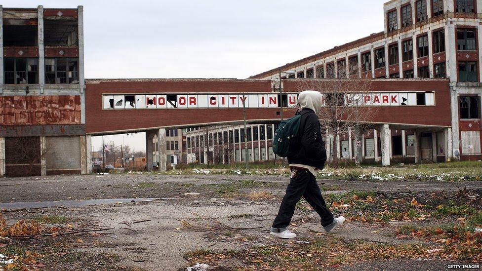 Detroit, Kota Terbesar di AS yang Bangkrut!